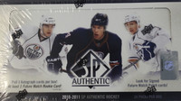 2010-11 Upper Deck SP Authentic Hockey