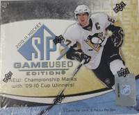 2010-11 Upper Deck SP Game Used Hockey