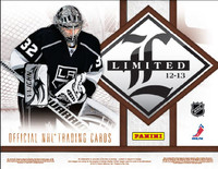 2012-13 Panini Limited (Hobby) Hockey