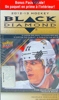 2012-13 Upper Deck Black Diamond (Blaster) Hockey
