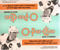 2012-13 Upper Deck O Pee Chee (Retail) Hockey