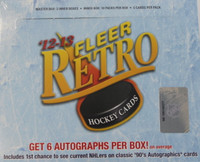 2012-13 Upper Deck Fleer Retro Hockey