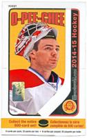 2014-15 Upper Deck O Pee Chee (Hobby) Hockey