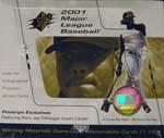 2001 Upper Deck SPX Baseball