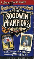 2012 Goodwin Champions (Blaster) Baseball