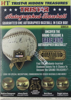 2016 Tristar Hidden Treasures Series 8 Autographed Baseballs (6 Balls/Box)