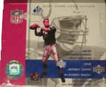 2001 Upper Deck SP Game Used Ed Football