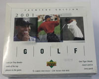 2001 Upper Deck (Hobby) Golf