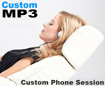 Custom MP3 with 1 hour phone session