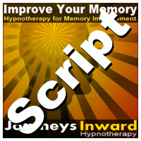 Hypnosis Script - Memory improvement