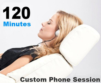 Custom hypnotherapy session