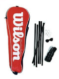 Wilson Garden Badminton/Volleyball Net and Post Set with Carry Bag