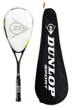 Dunlop Nanomax Ti Squash Racket + Carry Case