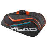 Head Rebel Junior Core Tennis Racket Bag Orange/Black