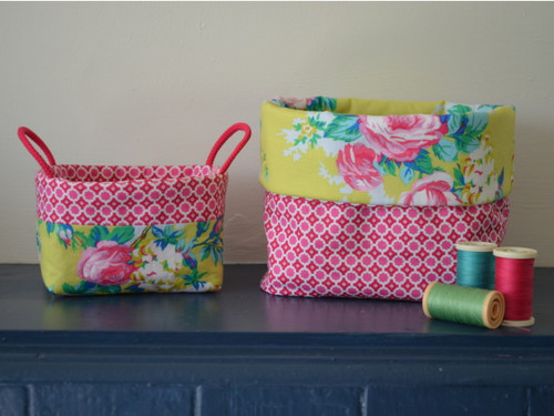 Bits and Bobs Fabric Box at The Sewing Cafe - Sewing workshop