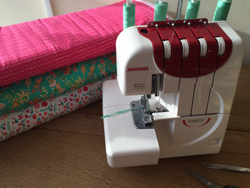 Introduction to the Overlocker at The Sewing Cafe - Sewing workshop
