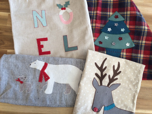 Christmas Applique at The Sewing Cafe - Sewing workshop