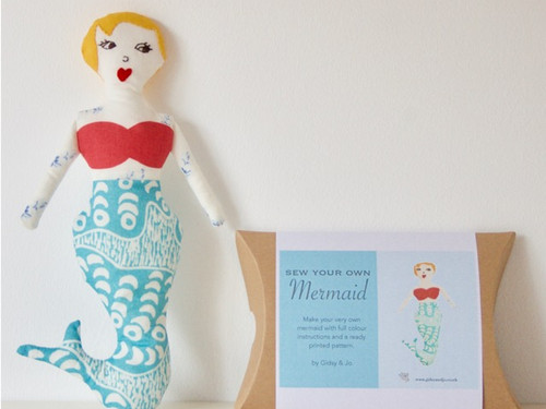 Mermaid Doll Workshop at The Sewing Cafe