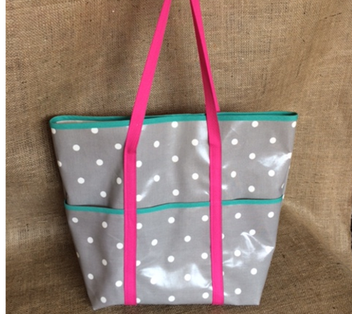 Take me to town - Oilcloth Tote Bag Sewing Kit