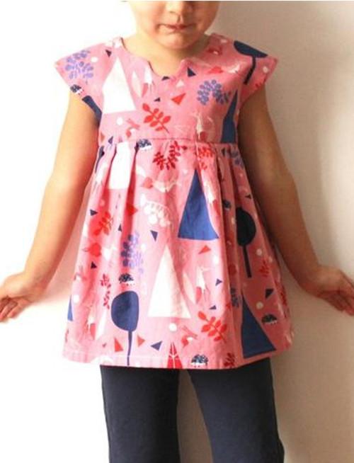 Geranium Little Girl's Dress Pattern