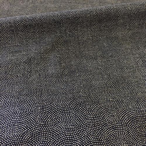 Indigo Cotton in Dots