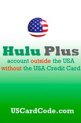 Hulu Plus Prepaid Card