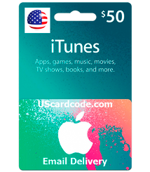 $50 iTunes Gift Card Code Paypal