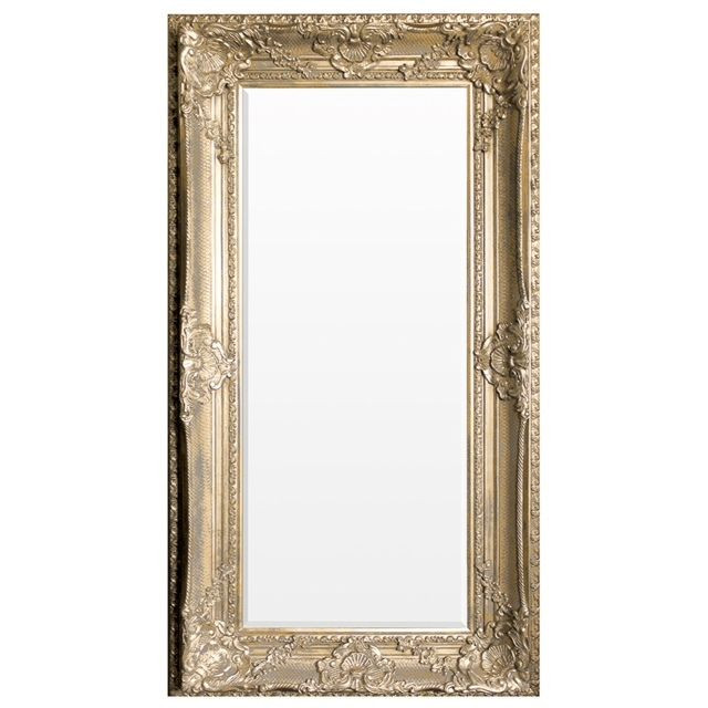 Westminster gold leaner wall extra large ornate shabby for Extra large mirrors
