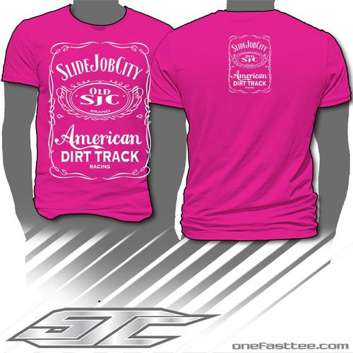 SJC Jack Design Tee Pink