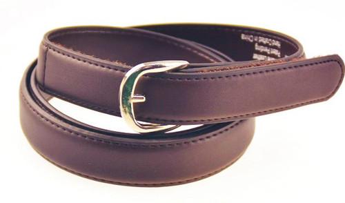 brown leather belt ezbucklebelts