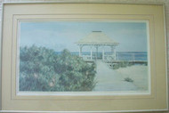"PAULA KOLOJESKI "" NEW JERSEY SHORE PAVILLION"" 1988 PRINT PENCIL SIGNED/NO"