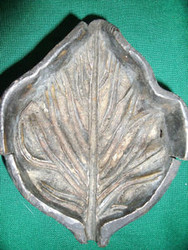 MOLLA TOOL CORP NYC BRONZE MOLD C1880 INCREDIBLE LEAF DESIGN