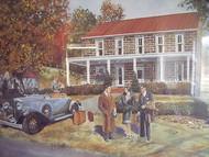 ROBERT T. HORVATH litho CENTURY INN WASHINGTON PA SIGNED NUMBERED CUSTOM FRAMED