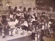 "DAVID WILKIE NYC ""WAITING"" FR TRACK & FIELD/ SOFTBALL PHOTOGRAPHS NYCHA CA 1970"
