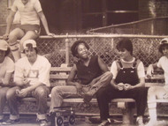 "DAVID WILKIE NYC ""HANGING OUT"" FR TRACK&FIELD/SOFTBALL PHOTOGRAPHS NYCHA CA 1970"