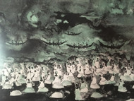 "ADOLF DEHN: ""African Shore"" Color Lithograph 1967 Pencil Signed and Numbered Custom Framed"