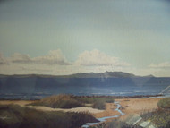 "ArtRoomsGallery.com: Frank W. Colclough "" Arran from Ahr"" Painting"