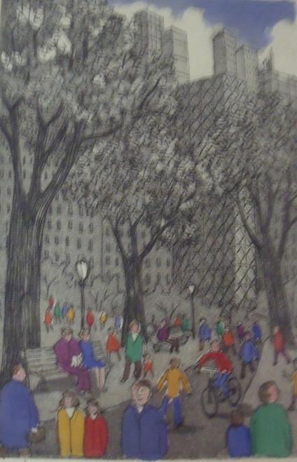 "ArtRoomsGallery.com: John Dorish ""New York Triptych"