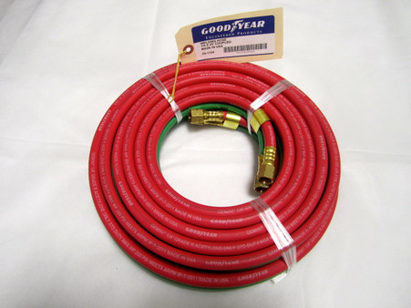 Designed for welding service providers this twin weld hose is a great addition to any & Goodyear/ Continental1/4 In. X 25 Ft. Grade R Type VD Twin Weld ...