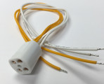4pin T5 socket with a wire for Ultraviolet UV Bulbs Lamps