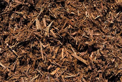 Natural Oak Shredded Mulch