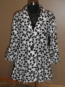 Daisy Print Lightweight Jacket