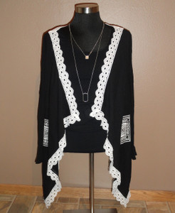 Elegant Lightweight Black Jacket