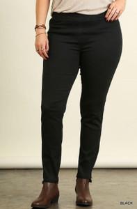 Plus-size Black Leggings
