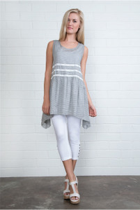 Striped Summer Smock Tunic