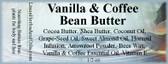 Vanilla & Coffee Bean Butter