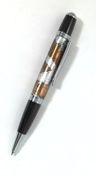 steampunk ball point pen
