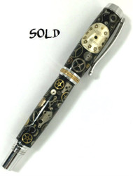 Rolex watch fountain pen