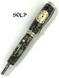 Rolex watch fountain pen