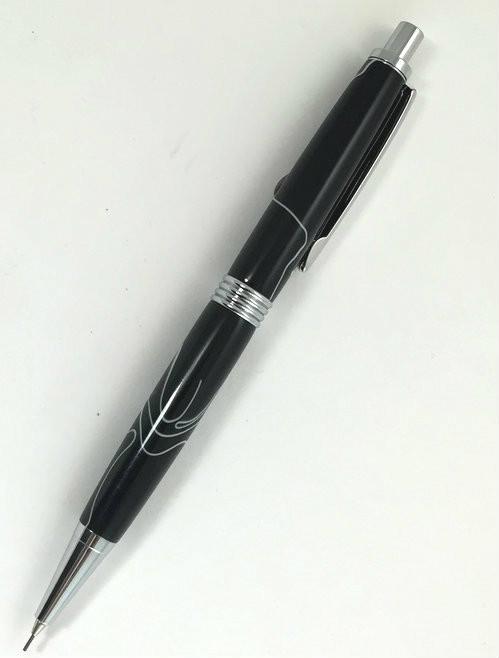 black mechanical pencil